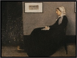 Abbott, Portret, Matki, McNeill, James, Whistler